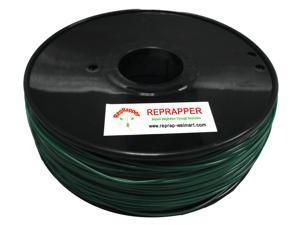 RepRapper ABS 1.75mm 3D Printer Filament  Compatible with Makerbot/ Afinia/ UP/ Solidoodle/ NewStarWay Color Christmas Green