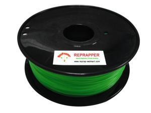 RepRapper PLA 1.75mm 3D Printer Filament  Compatible with Makerbot/ Afinia/ UP/ Solidoodle/ NewStarWay Color Green