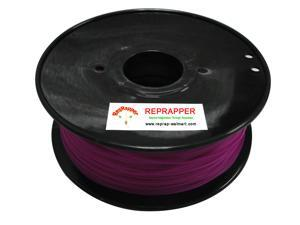 RepRapper PLA 1.75mm 3D Printer Filament  Compatible with Makerbot/ Afinia/ UP/ Solidoodle/ NewStarWay Color Purple