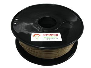 RepRapper PLA 1.75mm 3D Printer Filament  Compatible with Makerbot/ Afinia/ UP/ Solidoodle/ NewStarWay Color Gold