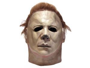 Halloween II Michael Myers w Hair Latex Mens Face Mask
