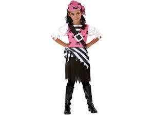 Punky Pirate Girls Kids Costume