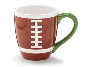 Burton & Burton Football Designed Hand Painted Ceramic Mug