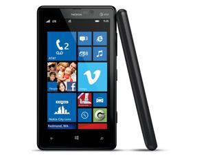 Nokia Lumia 820 Black GSM Unlocked 8GB Carl Zeiss Smartphone