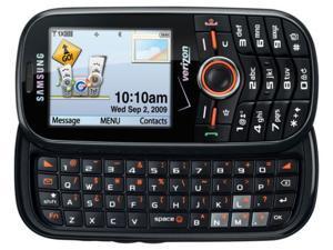 Samsung Intensity II U460 Cell Phone Verizon Page Plus - Black Gray