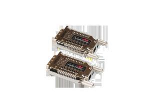 DVI over Fiber Optic Extender up to 1000M - SC and EMI Shielded Unit