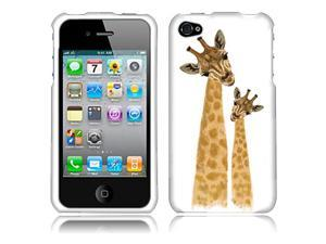 Apple iPhone 4 iPhone 4S Hard Case Cover - Giraffe