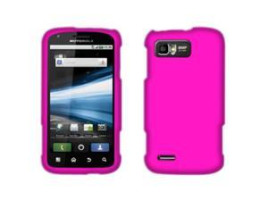 Motorola Atrix 2 MB865 Hard Cover Case - Rose Pink Texture