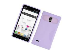 LG Optimus L9 P769 Protector Case Cover - Hybrid Purple Fluorescent