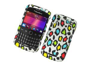 BlackBerry 9350 Curve 9360 Apollo 9370 Hard Cover Case - Colorful Leopard Texture