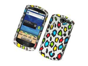 Huawei Impulse 4G U8800 Hard Cover Case - Colorful Leopard Texture