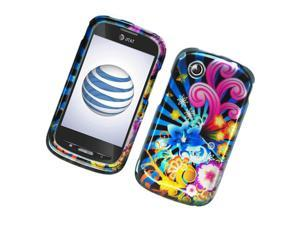 ZTE Avail N760 Z990 Hard Cover Case - Colorful Fireworks 2D Glossy