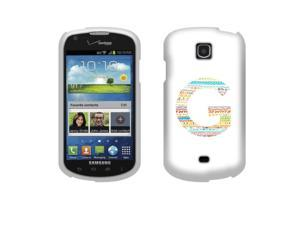 Samsung Galaxy Stellar I200 Hard Case Cover - G Color Character