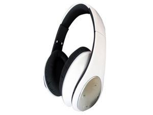 KAXIDY Bluetooth Stereo Headset Headphones Handsfree Earpiece Microphone Headband - White
