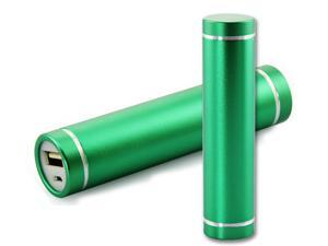 Green - Portable USB 2600mAh power bank CSY-2600 External Mobile Battery Charger Power Bank for Mobile Phone iPhone Samsung ...