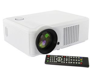 US Shipping 16:9/4:3 2000Lumens HD 1080P Home Theatre LED Projector Support AV VGA 2* HDMI USB YPBPR S-VIDEO