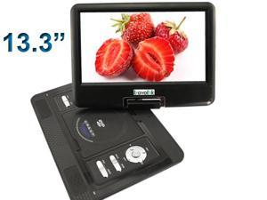 "13.3"" Handheld Portable DVD Player LCD Screen Display CD VCD MP3 MP4 USB Home Theater"