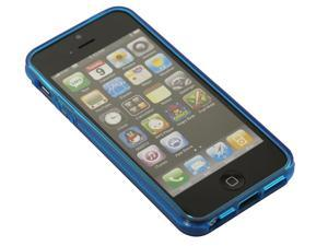 ULTRA THIN CRYSTAL CLEAR BLUE SNAP ON Soft CASE COVER SKIN FOR APPLE IPHONE 5 5G 5TH 5S