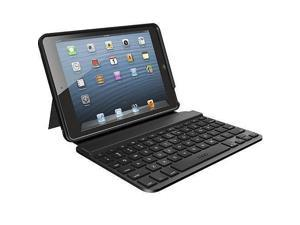 "ZAGG Keyboard & Folio Case ZAGGkeys Mini 7"" for iPad Mini Bluetooth FOSBSLBLK10 - Non-Retail packaging"