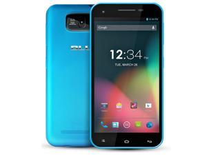 BLU Studio 5.5 D610A JB 4.2 Android GSM 3G US Blue Unlocked Quad Core Phone