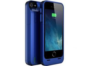 uNu Power DX External Protective Battery Case for iPhone 5S / iPhone 5 - MFI Apple Certified - Blue