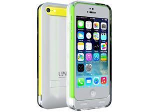 uNu Reveal Protective Battery Charging Case for Apple iPhone 5C - White