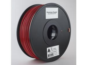Prototype Supply ABS 3D Printing Filament 1.75mm Red 1kg/roll (2.2 pounds)