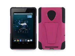 Rugged Dual Layer Impact-Absorbing Case With Built-In Kickstand Compatible with Google Nexus 7 Asus Nexus Tablet, Google ...