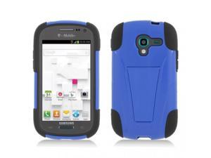 T-Stand Hybrid Dual Armor Case Compatible with Samsung Galaxy Exhibit T599 for T-Mobile