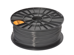 Justpla – Dark grey 1.75mm PLA Filament for 3D Printers (1kg/2.2lbs)