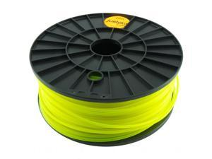 Justpla – Yellow 3mm PLA Filament for 3D Printers (1kg/2.2lbs)