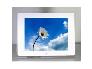 "New 12.1"" LCD Screen Multi-media Auto Browse Digital Photo Frame White"