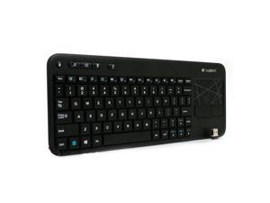 N Logitech K400 Wireless Touch Keyboard K400r Built-In Multi-Touch Touchpad