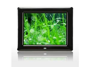 "New 8"" LCD Screen 16 :9 Wide Screen Auto Browse Digital Photo Frame Black"