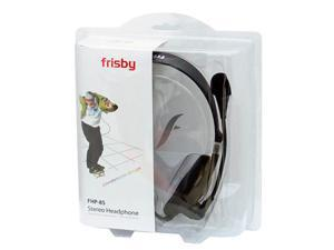 New Frisby FHP85 Light PC Skype Computer Laptop Headphones Headset w/ MIC & Vol Ctrl Black & Silver