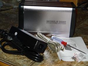 "3.5"" USB 2.0 Aluminum External Dual SATA Hard Drive HDD Enclosure 1 TB"