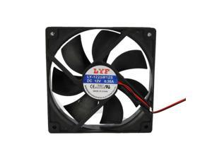 Lot 3 Pcs Black 120mm IDE Chassis Fan Cooling for Computer PC Host 4 Pins
