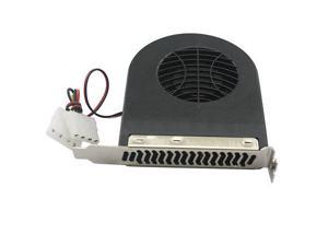 New 4 Pins System Blower CPU Case PCI Slot Fan Cooler for MAC/PC