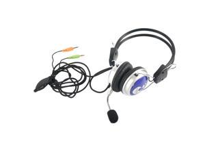 New MV5 3.5mm Stereo Headset Headphones/Microphone for PC Laptop/Notebook