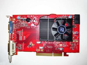 ATI Radeon HD 3450 512MB AGP 4X 8X Windows 7 Vista XP Video Graphics VGA Card