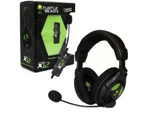 Turtle Beach Ear Force X12 Gaming Headset Xbox 360 Headphones