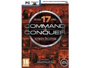 COMMAND & CONQUER THE ULTIMATE COLLECTION for PC SEALED NEW