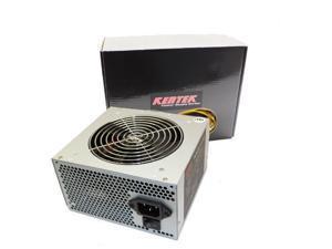 650W 120mm Fan ATX 600W Gray SATA PCIE Power Supply Quiet Dual 12V Rails