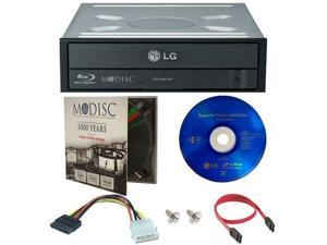 16X Internal Blu-ray 3D Playback Burner Writer+Software+Cable+1pk M-DISC DVD