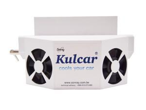 Kulcar (10-Year Warranty Solar Powered Panel) Car Cooler Ventilator