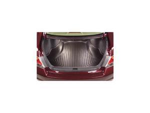 Trunk Liner-Honda Accord 2013-2015-Black-Fits 4-door Sedan Models Only.