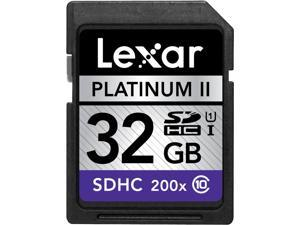 Lexar 32GB Secure Digital High-Capacity (SDHC) Class 10/UHS-I High-Speed Card