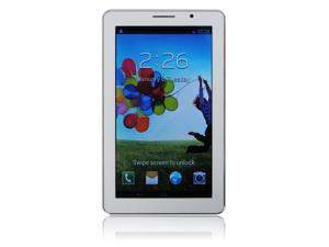 "New7""  Dual Core 1.2GHz  DDR3 Android 4.1 up to 32G Phone call Tablet PC 2 SIM Card White"