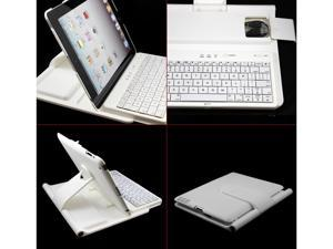 Laiputuo Removable Rotating Wireless Bluetooth Keyboard for 9.7 Inch Apple iPad 4, iPad 3, iPad 2 with 360 Degree Rotating ...