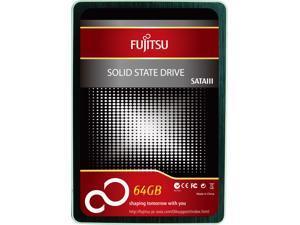 """Fujitsu FSA 2.5"""" 64GB 64G SATA III MLC Internal Solid State Drive (SSD)"""